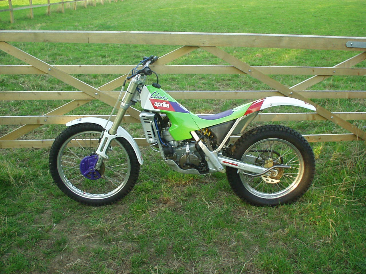 Aprilia Climber Trials Bike For Sale 600 Visordown